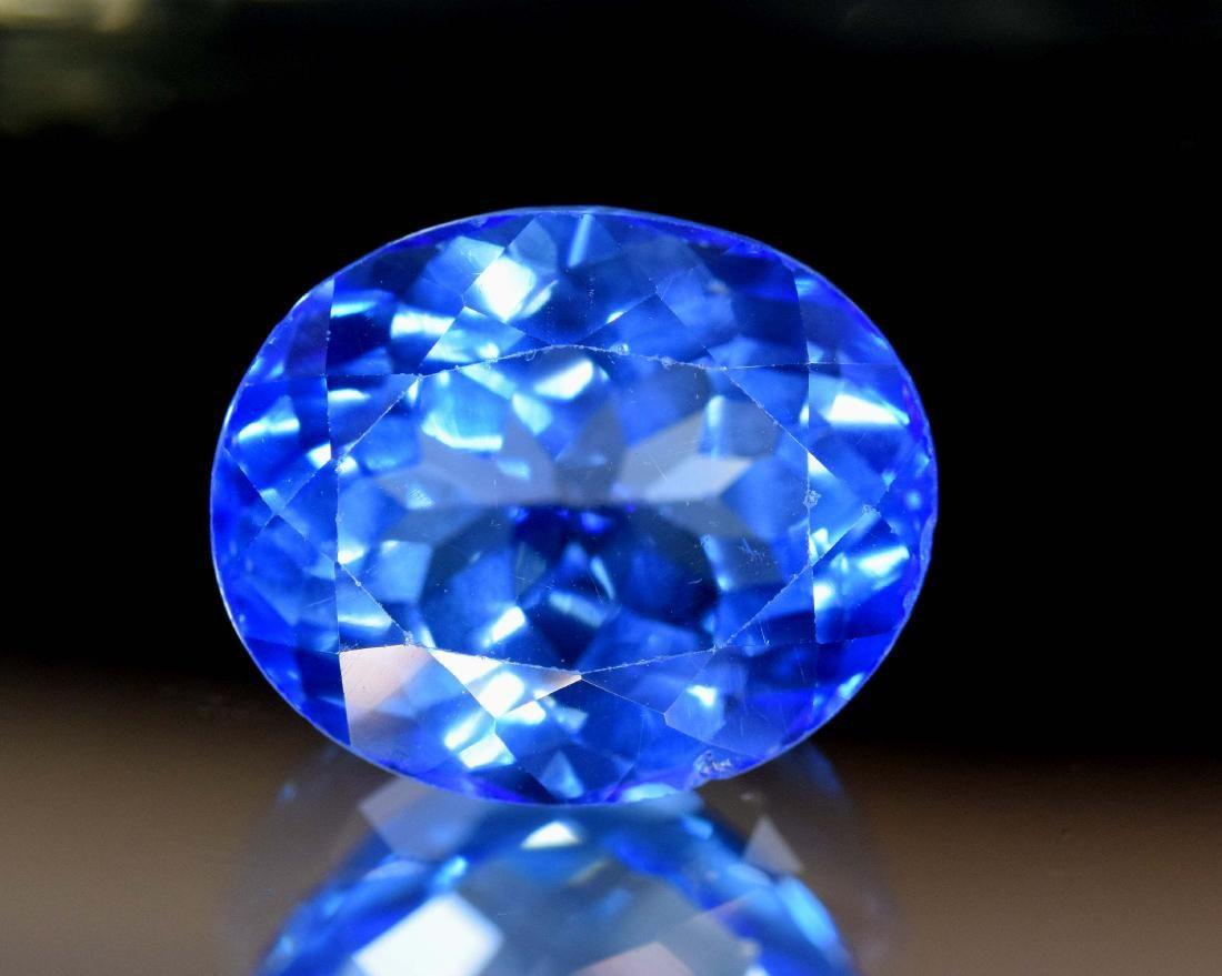 18 cts Stunning Electric Blue Topaz Gemstone ~ 16*14*10