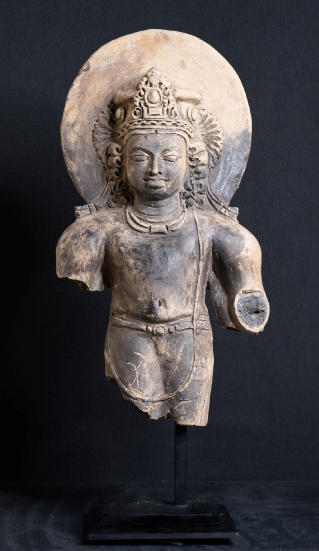 Bas-relief of Vishnu