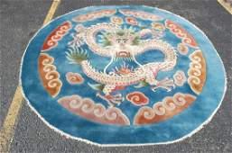 Circa 1950s SEMI-ANTIQUE ART DECO MINT CHINESE DRAGON