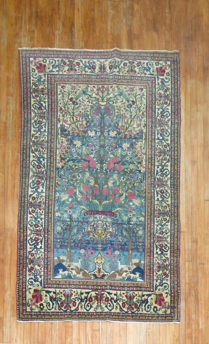 Pictorial Persian Isfahan Rug
