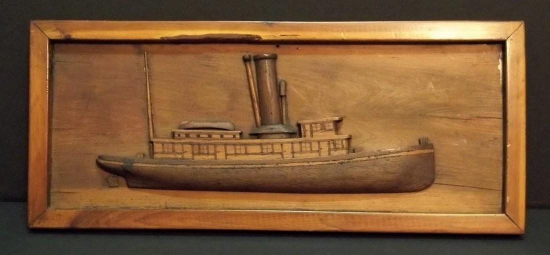 Tug boat diorama