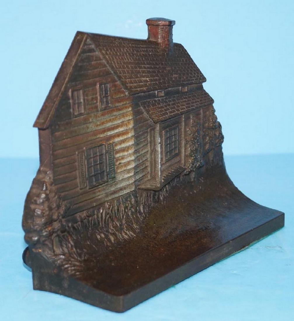 Edgar Allen Poe Cabin Cast Iron Bu0026H Doorstop ... & Vintage Doorstops for Sale u0026 Antique Doorstops