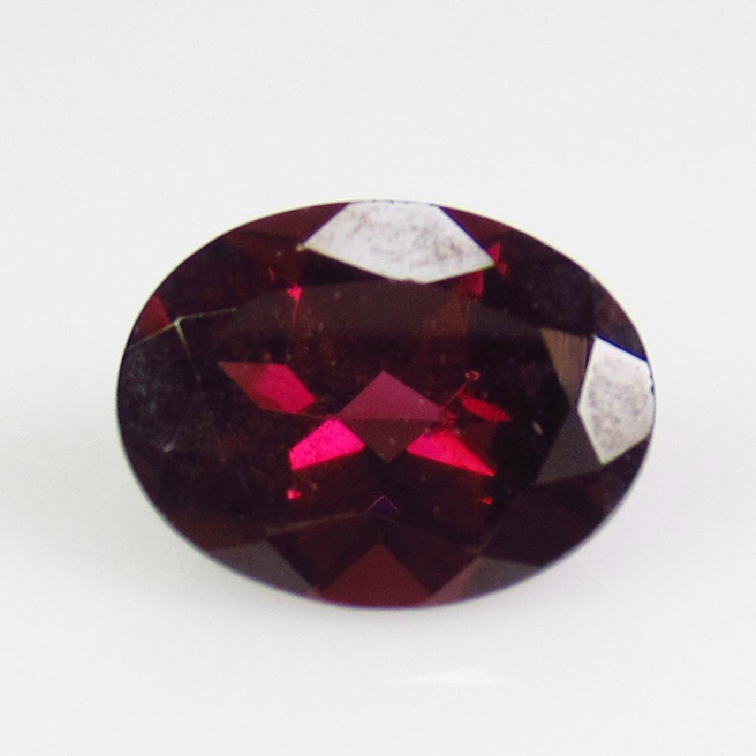 1.59 Ctw Natural Pink Rhodolite Garnet 8X6 mm Oval