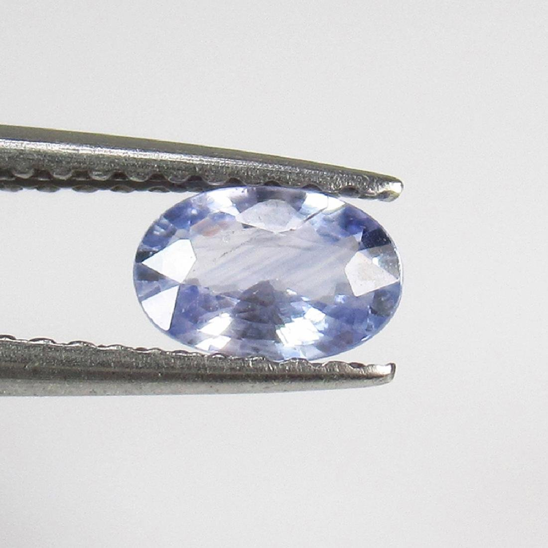 0.48 Ctw Natural Blue Sapphire 6X4 mm Oval Cut