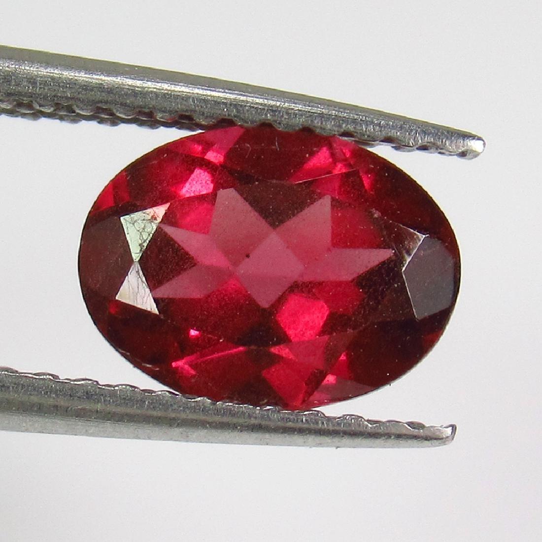 1.84 Ct Natural Pink Rhodolite Garnet 8X6 mm Oval Cut