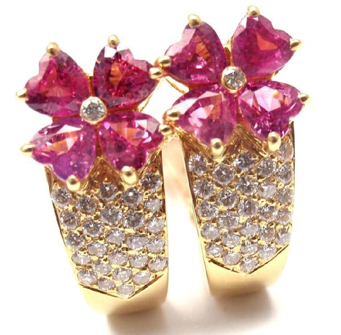 Authentic! Van Cleef & Arpels 18k Yellow Gold Diamond