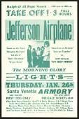 Rare 1967 Jefferson Airplane Santa Venetia Armory