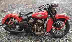 1946 Harley Davidson WL W/61G Engine
