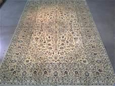 STUNNING ANTIQUE PERSIAN KASHAN RUG 82x116