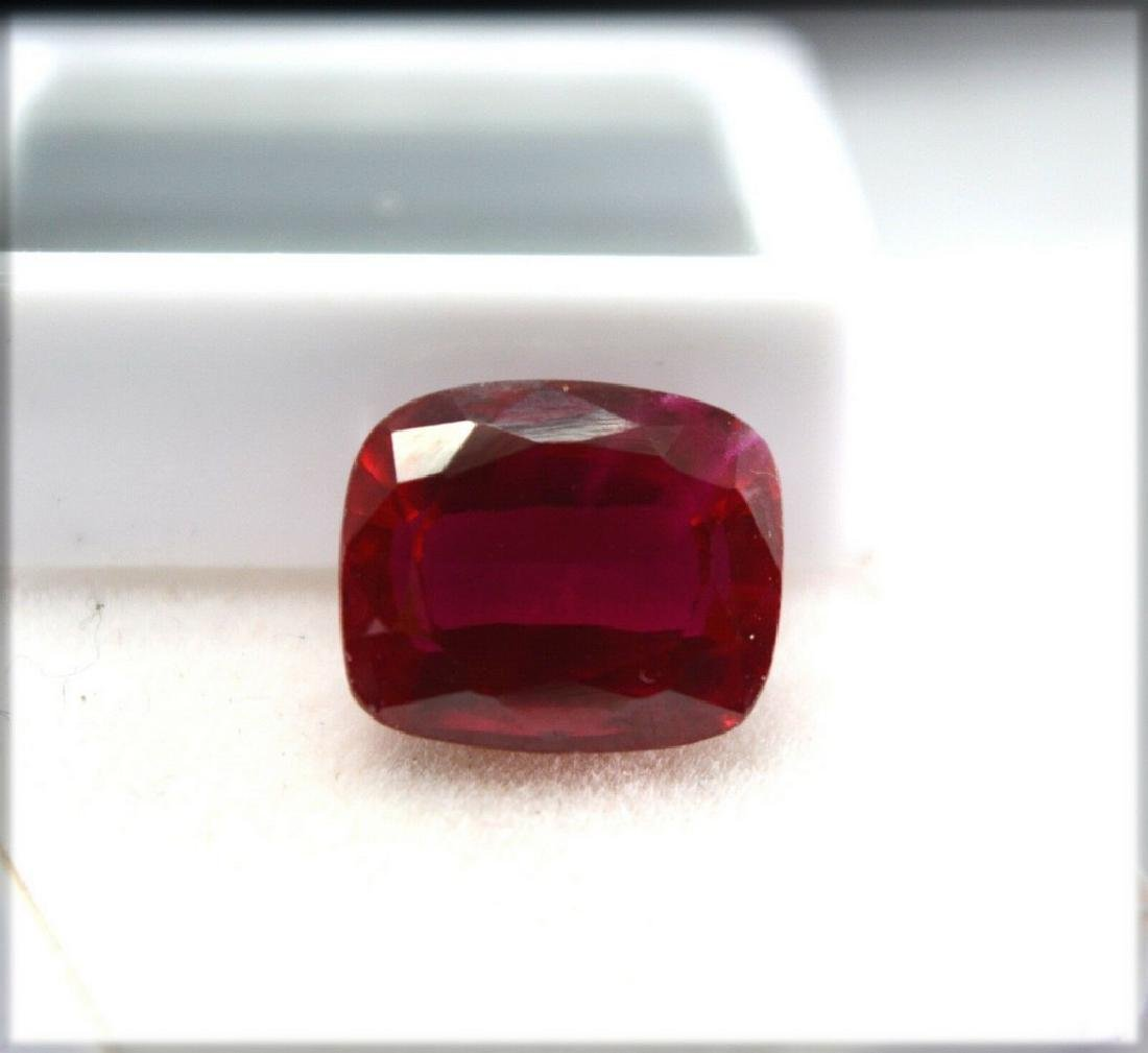 8.50 ct certified ruby