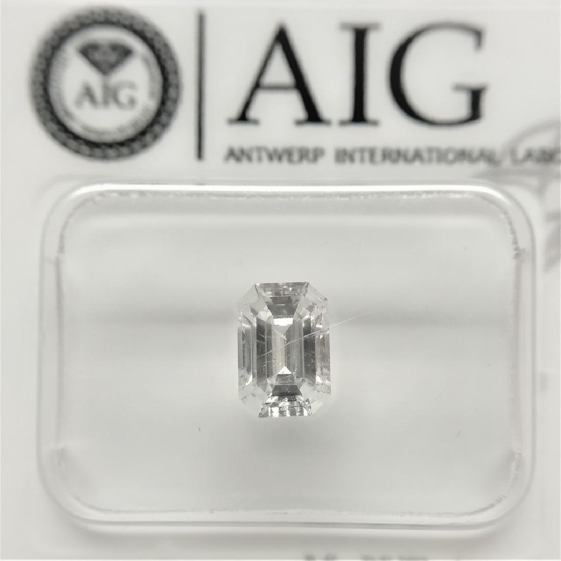 1 pcs Diamond - 0.72 ct - Emerald - E - SI2