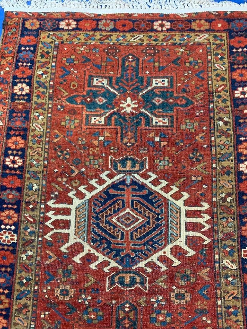 Semi Antique Hand Woven Persian Heriz 5x3
