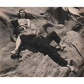 EDWARD WESTON  Zohmah and Jean Charlot Point Lobos
