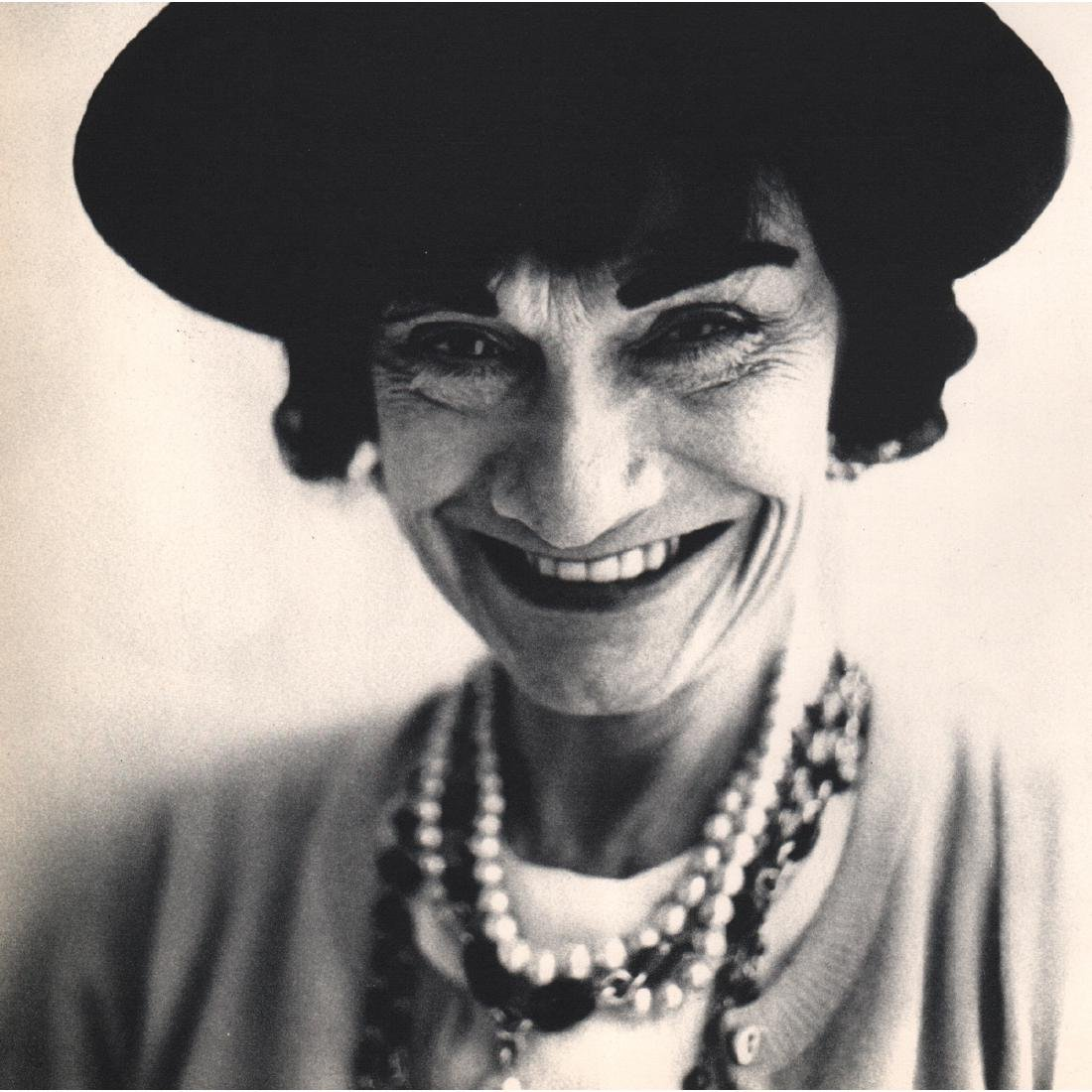 RICHARD AVEDON - Gabrielle Chanel, 1958