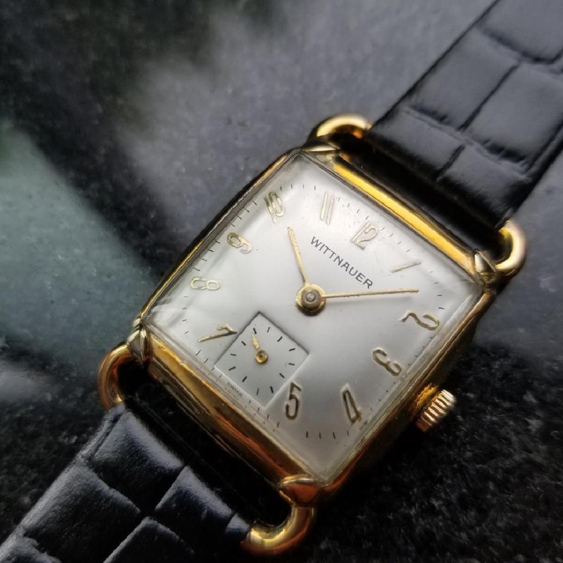 LONGINES WITTNAUER 10K Gold-Filled Men's Midsize Swiss