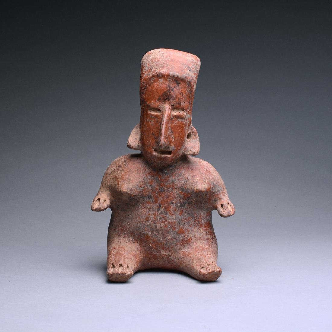 San Juanito Style Jalisco Terracotta Sculpture of a