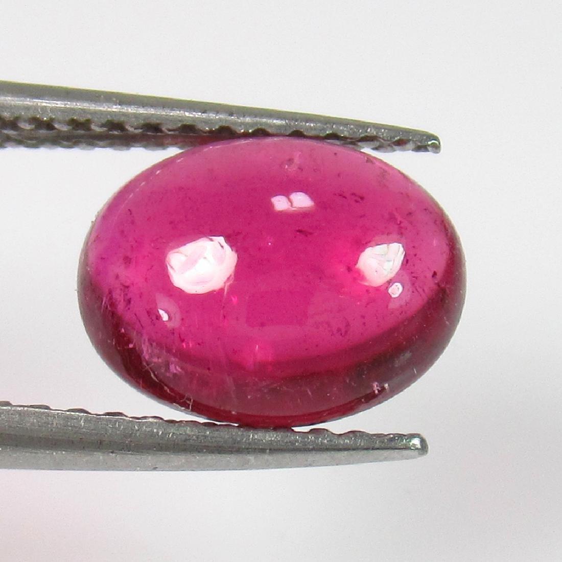 1.95 Ct Genuine Pink Rubellite Tourmaline 9X7 mm Oval