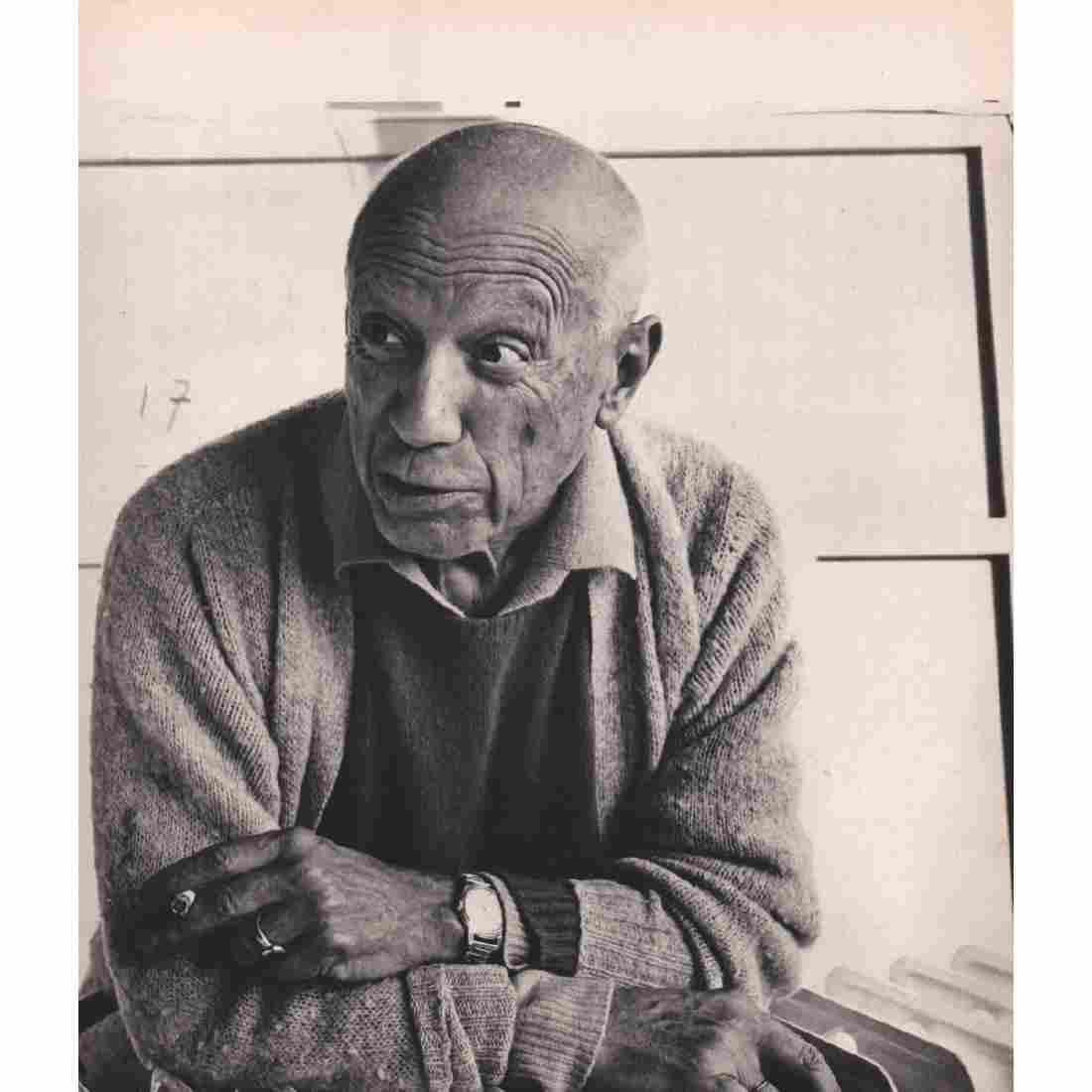 CECIL BEATON - Pablo Picasso, Mougins 1965