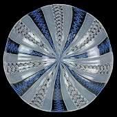 Venini Murano Zanfirico Ribbons Art Glass Bowl