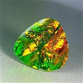 339 ct Mexican Fire Opal Doublet