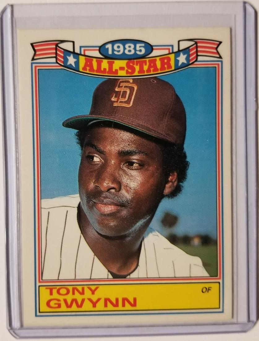 Tony Gwynn 1986 Topps 1985 All Star Sports Card