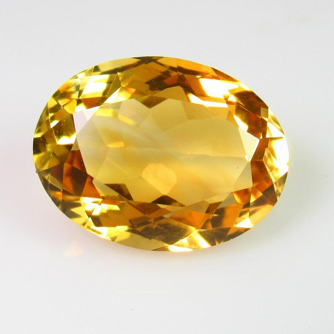 10.68 Ct Genuine Madeira Whisky Citrine 17X13 mm Oval