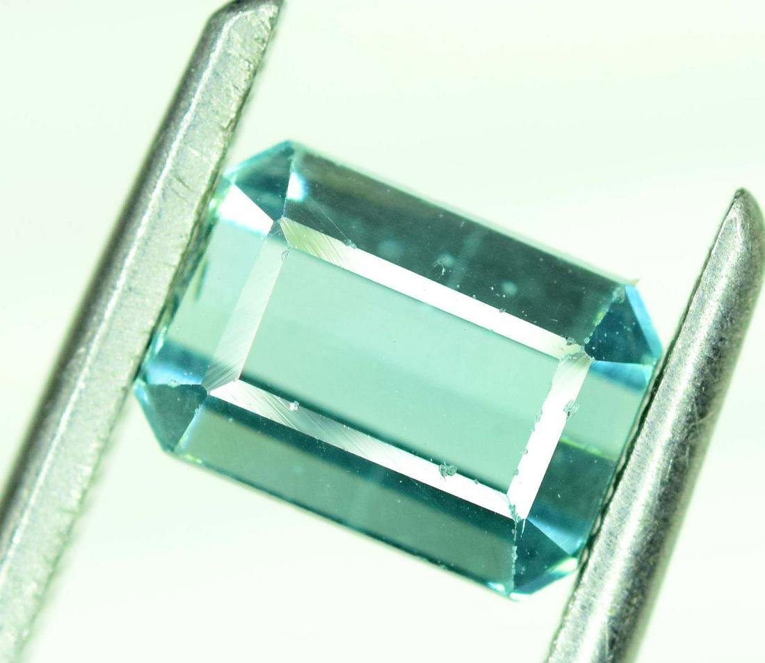 1.40 cts Untreated Indicolite Blue Tourmaline Gemstone
