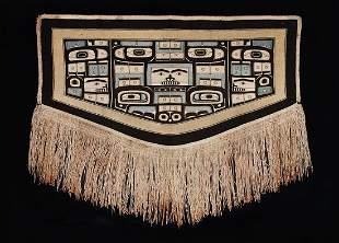 A Fine Northwest Coast Chilkat Dancing Blanket