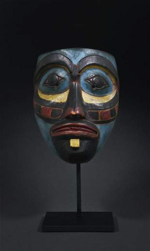 A Northwest Coast Ceremonial Dance Mask