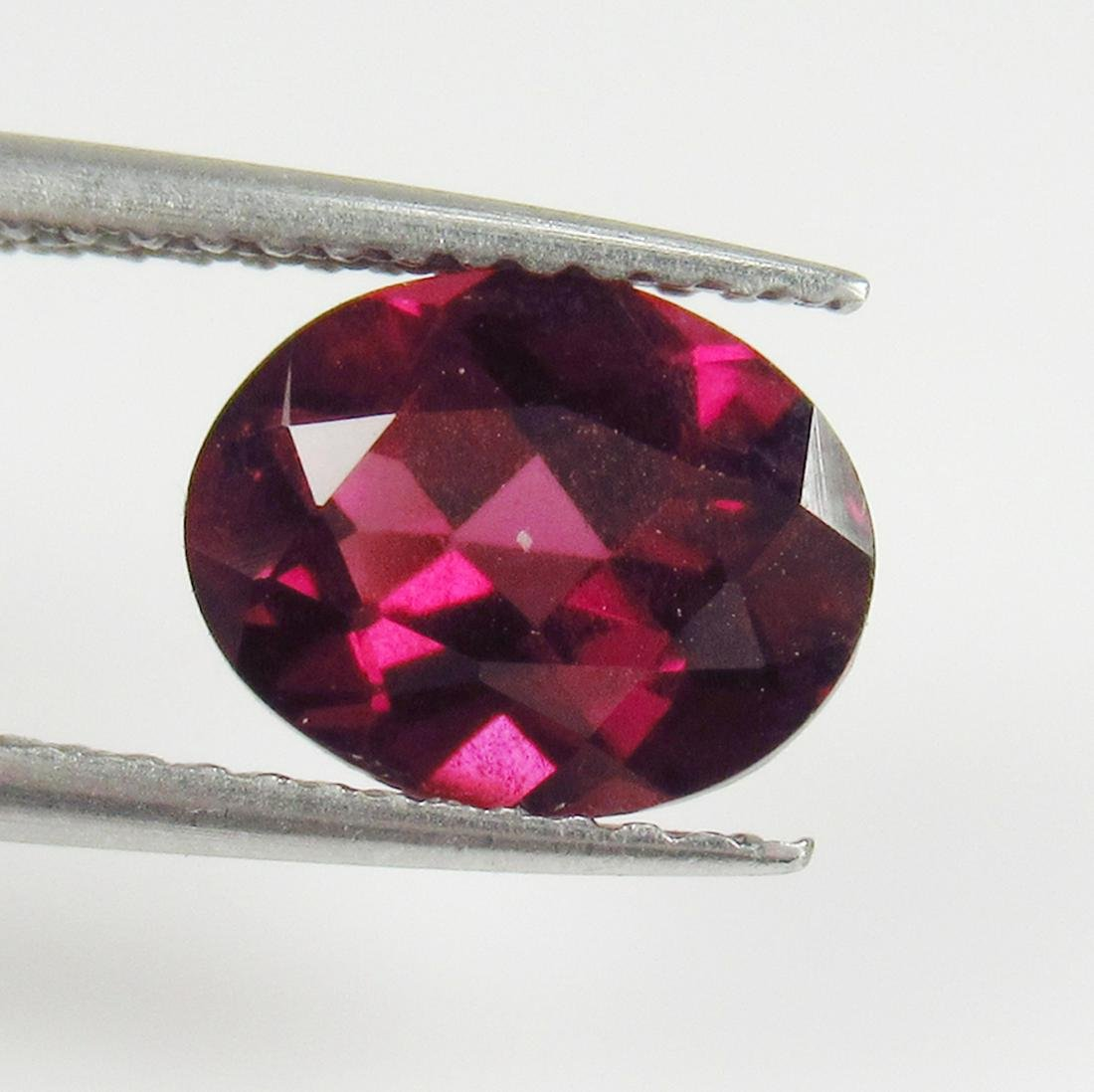 2.38 Ct Genuine Pink Rhodolite Garnet Oval Cut