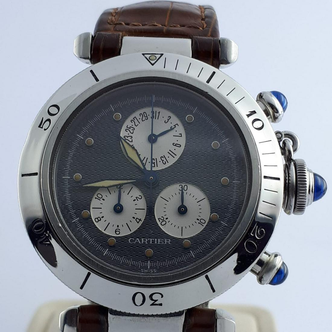 Cartier - Pasha Chronoflex - 1352 1 - Men - 2000-2010