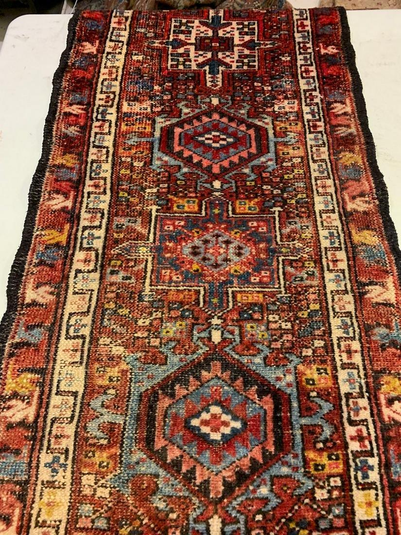 Semi Antique Hand Woven Persian Heriz 5.1x2