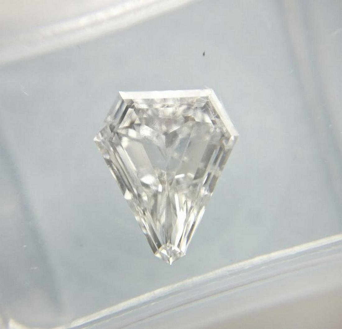 1.00 ct Heptagon cut Diamond D VS2