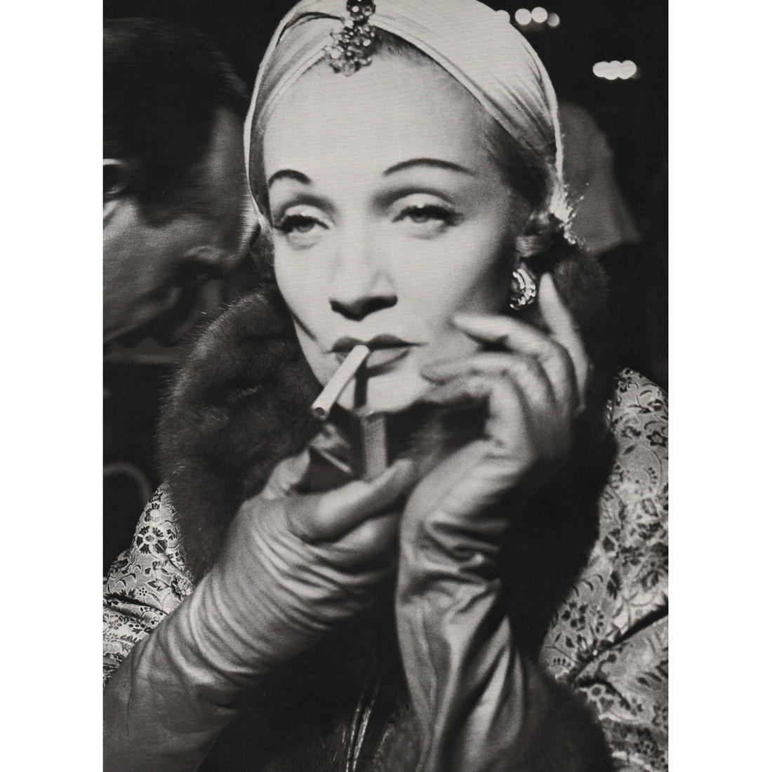 RICHARD AVEDON - Marlene Dietrich, Turban by Dior