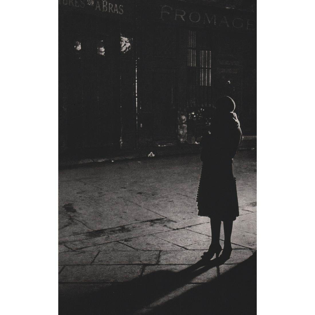 BRASSAI - Young Prostitute at Rue de la Reynie, Paris