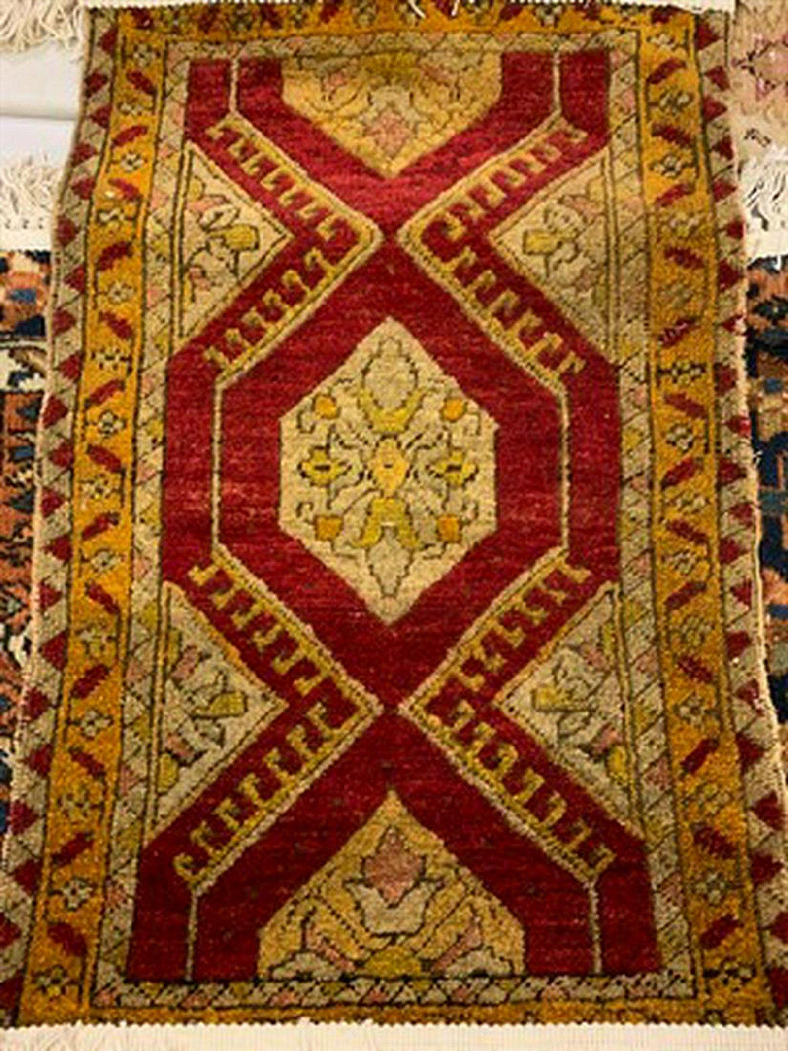 Semi Antique Hand Woven Persian Turkish 2.3x3