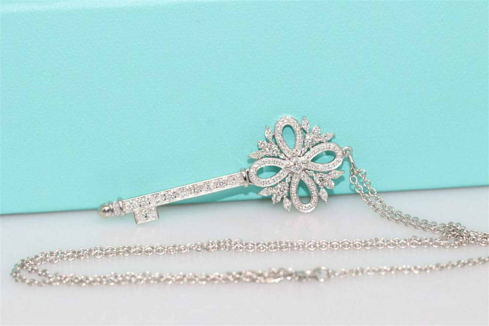 Tiffany & Co. Victoria Key Pendant