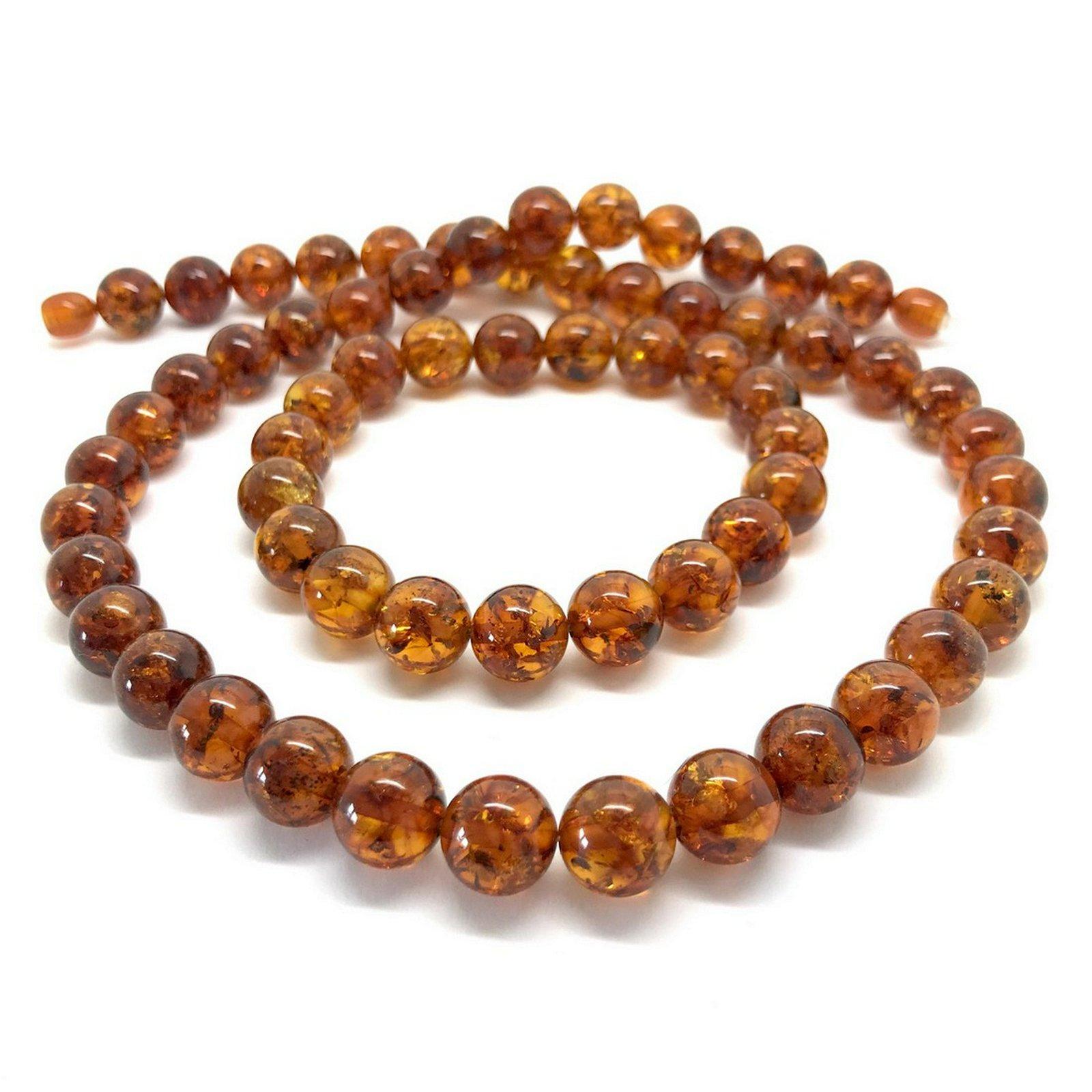 Classic vintage Amber set necklace & bracelet