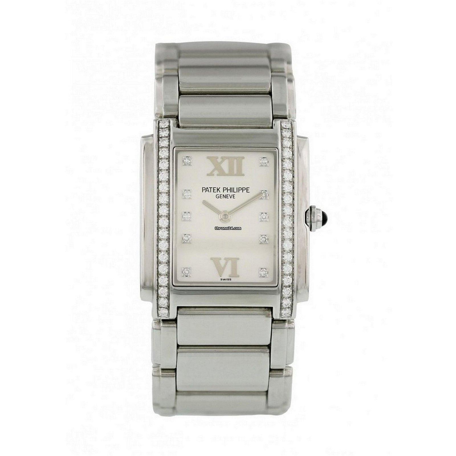 Patek Philippe Twenty-4 4910/10A Diamond Watch