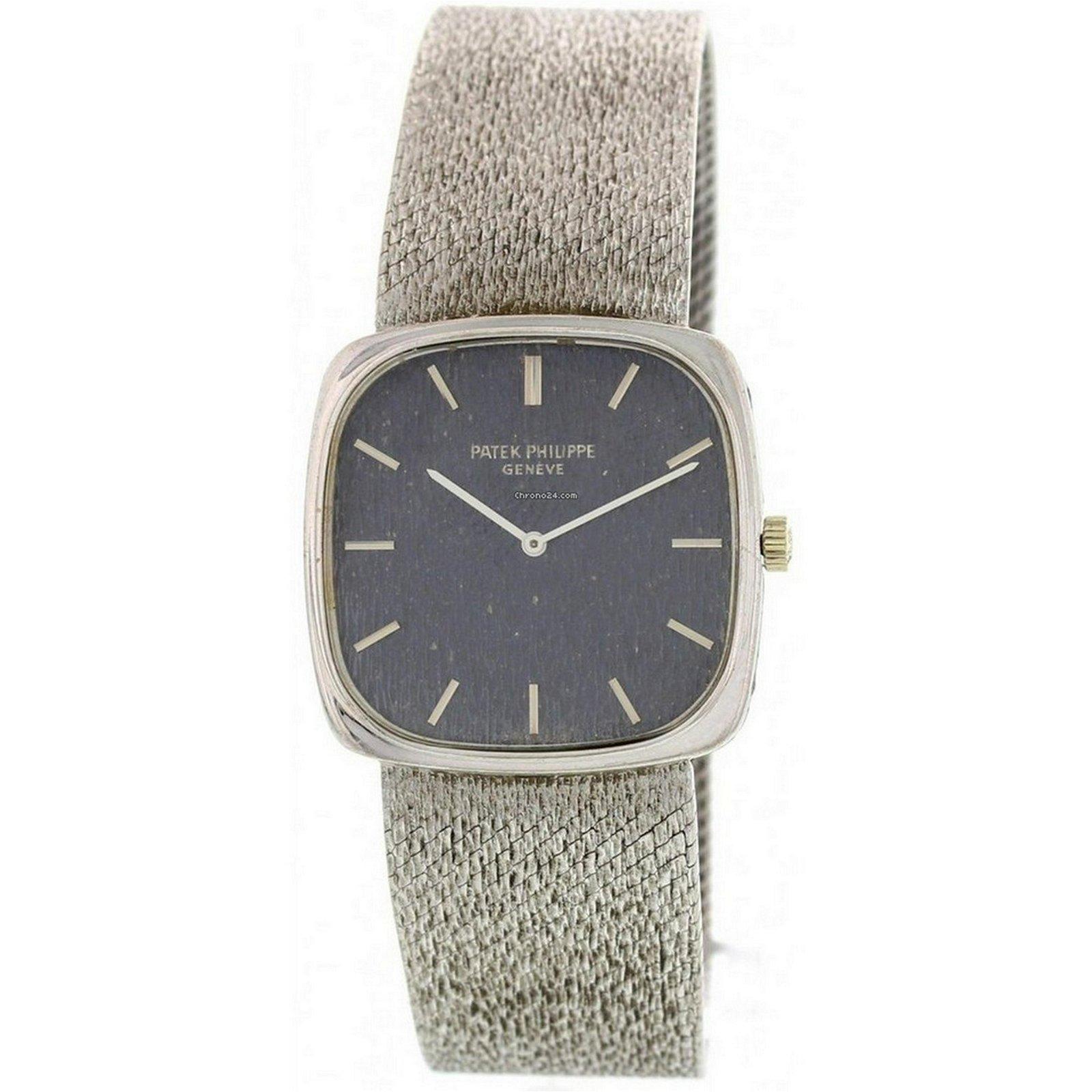 Patek Philippe Ellipse 18K White Gold Watch