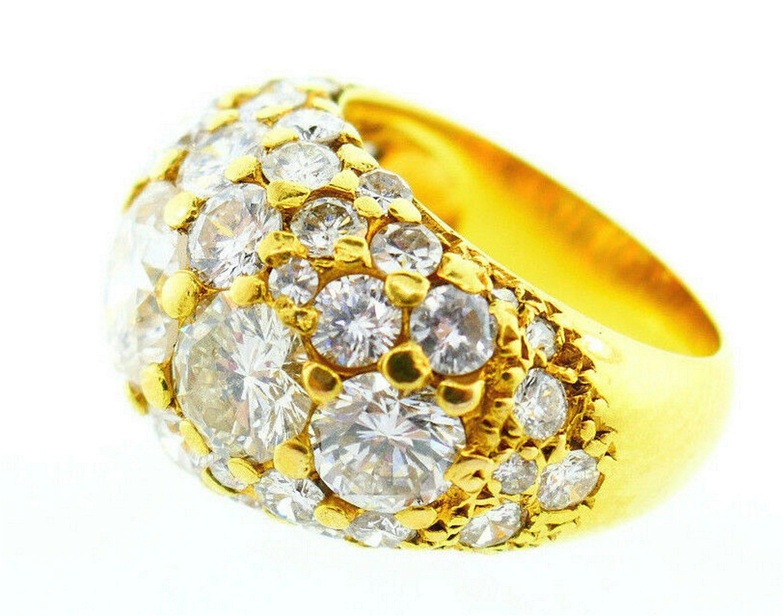 Vintage 14k Yellow Gold and 6.50 Carats of Diamonds