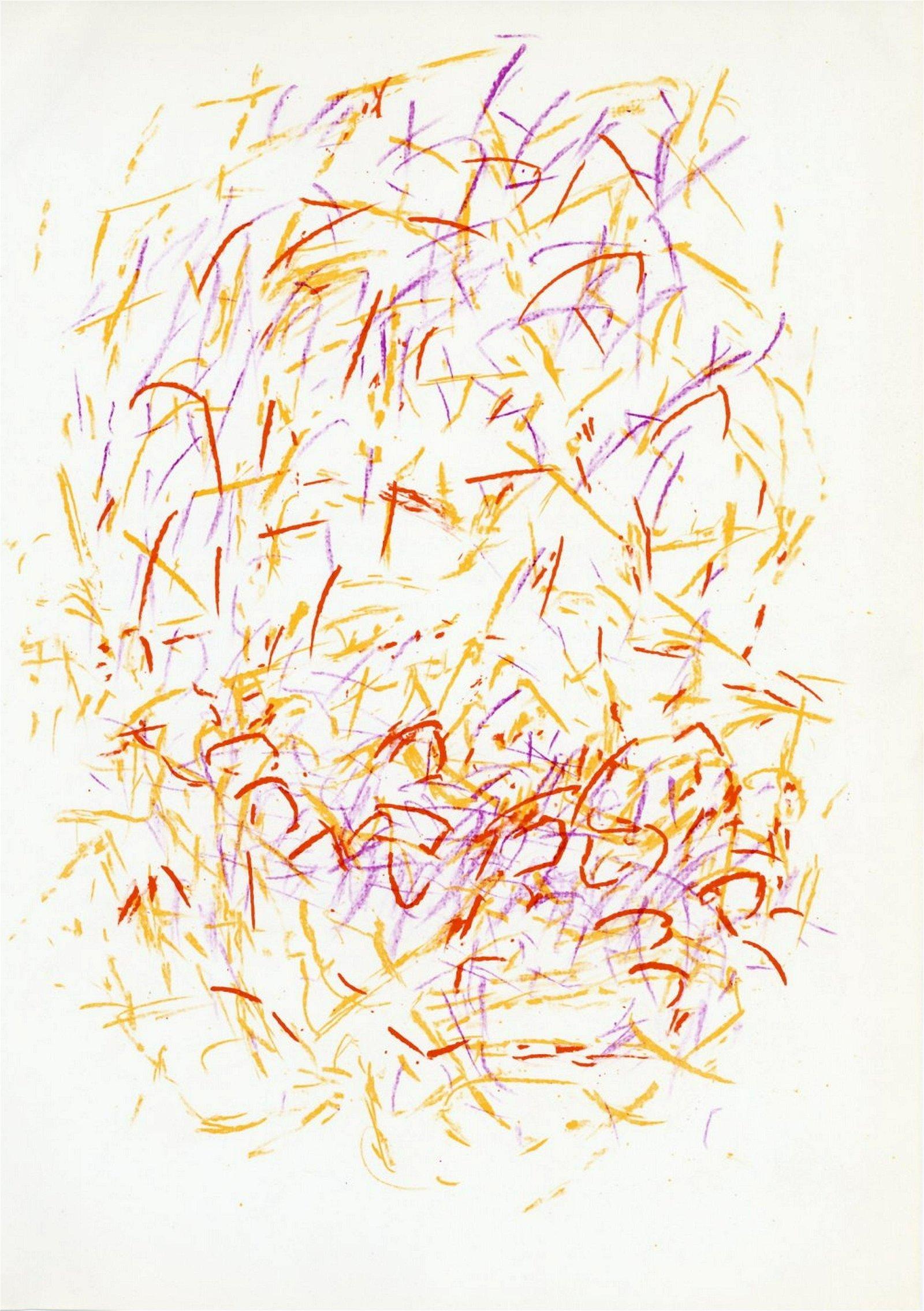 Jean Bazaine original lithograph, 1968