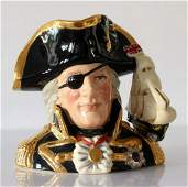 Prototype Vice Admiral Lord Nelson  Character Jug