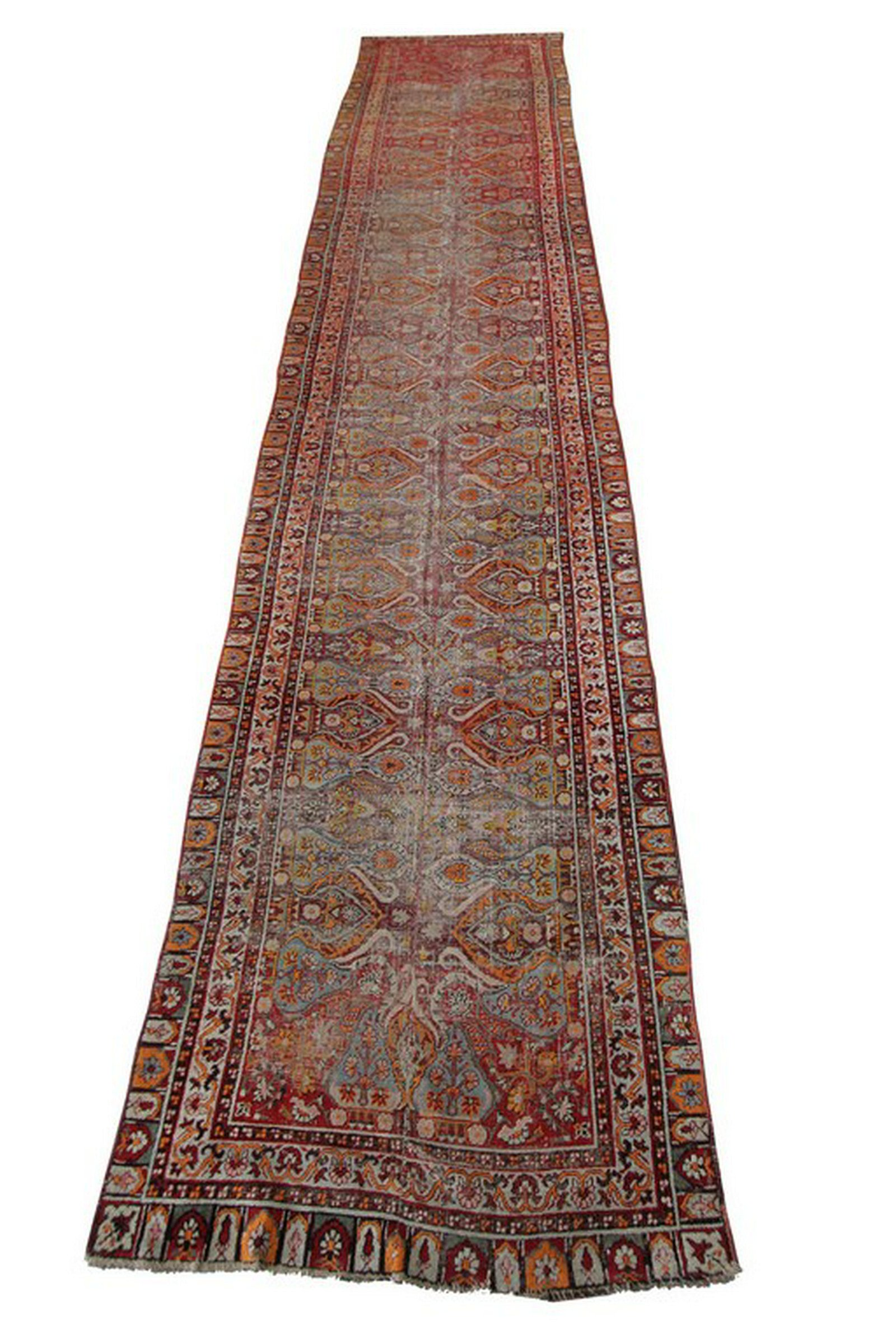 Antique Gordis Mogul Runner Gallery Oushak Rug Ralph