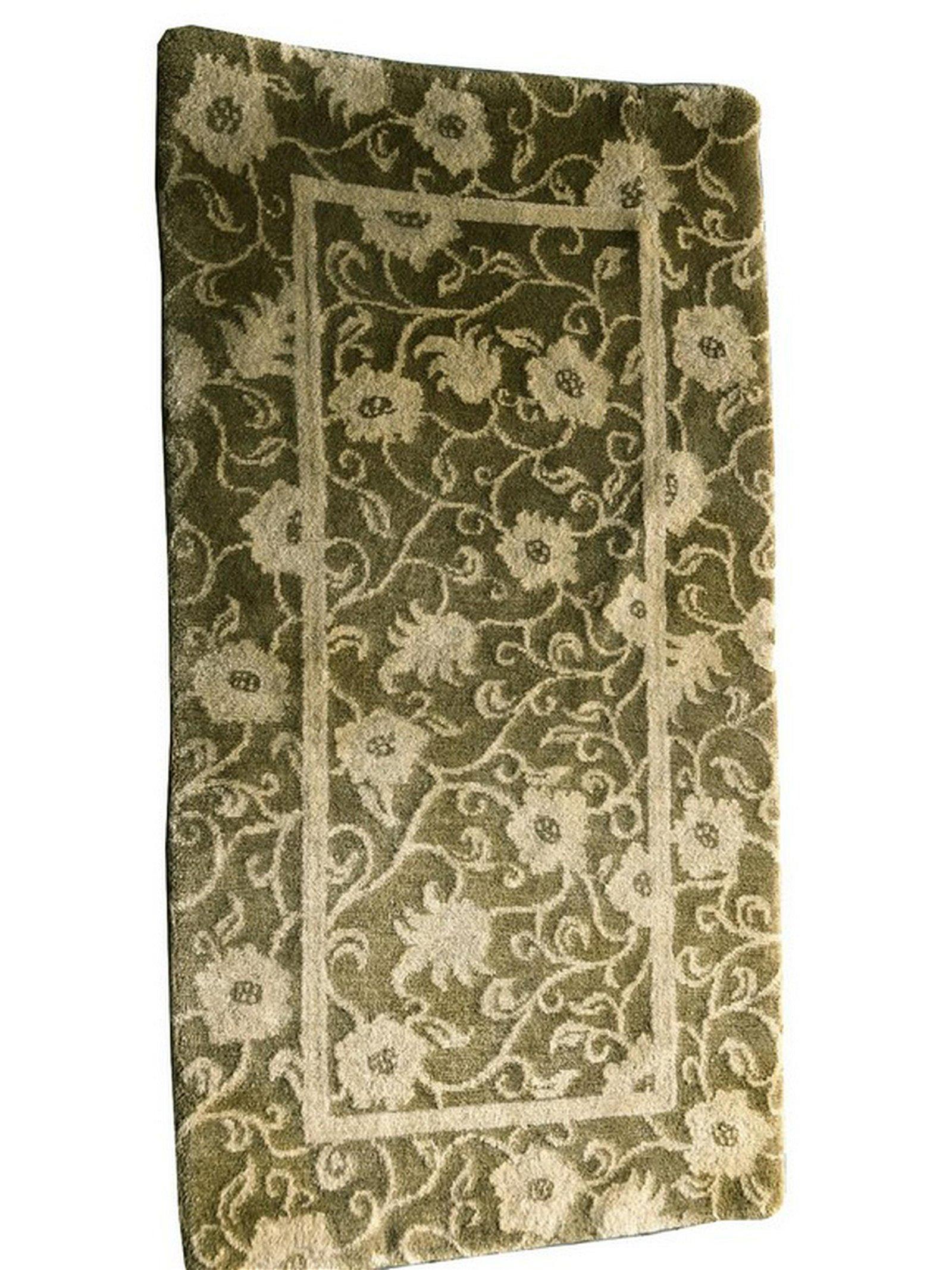 Vintage Fine Tibetan Rug Hand Knotted Carpet 100% Wool