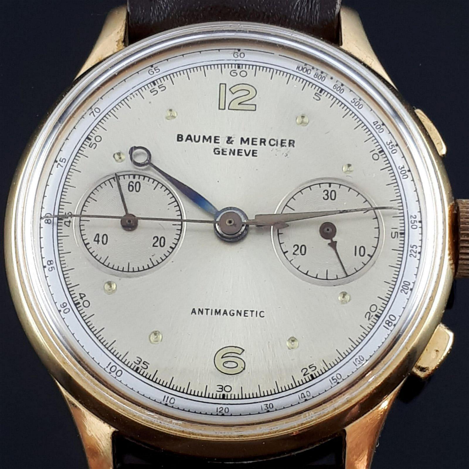 Baume & Mercier - Vintage Manual Chronograph - Men -