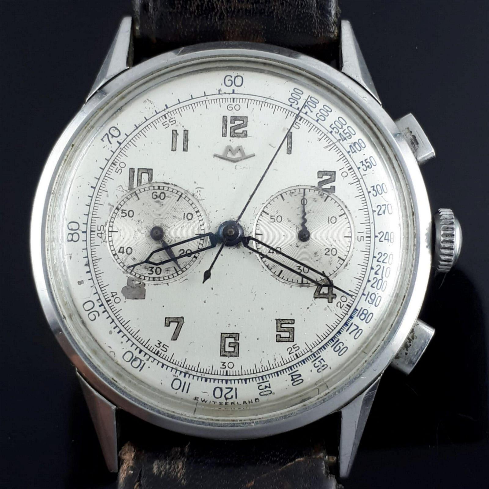 Movado - Vintage Chronographe - Men - 1901-1949