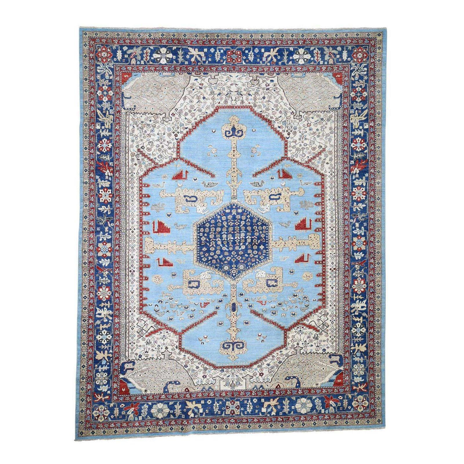 d Bakshaish High KPSI Hand-Knotted Oriental Rug