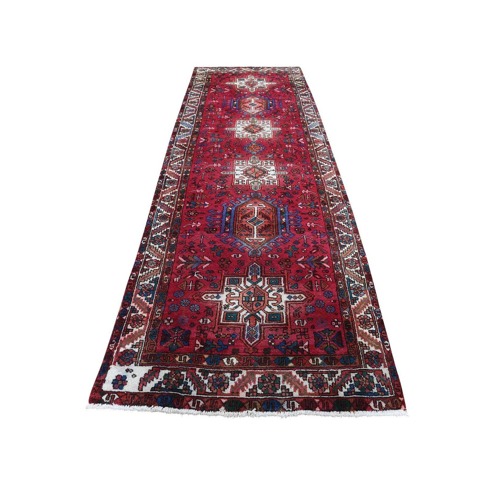 Persian Karajeh Pure Wool Wide Runner