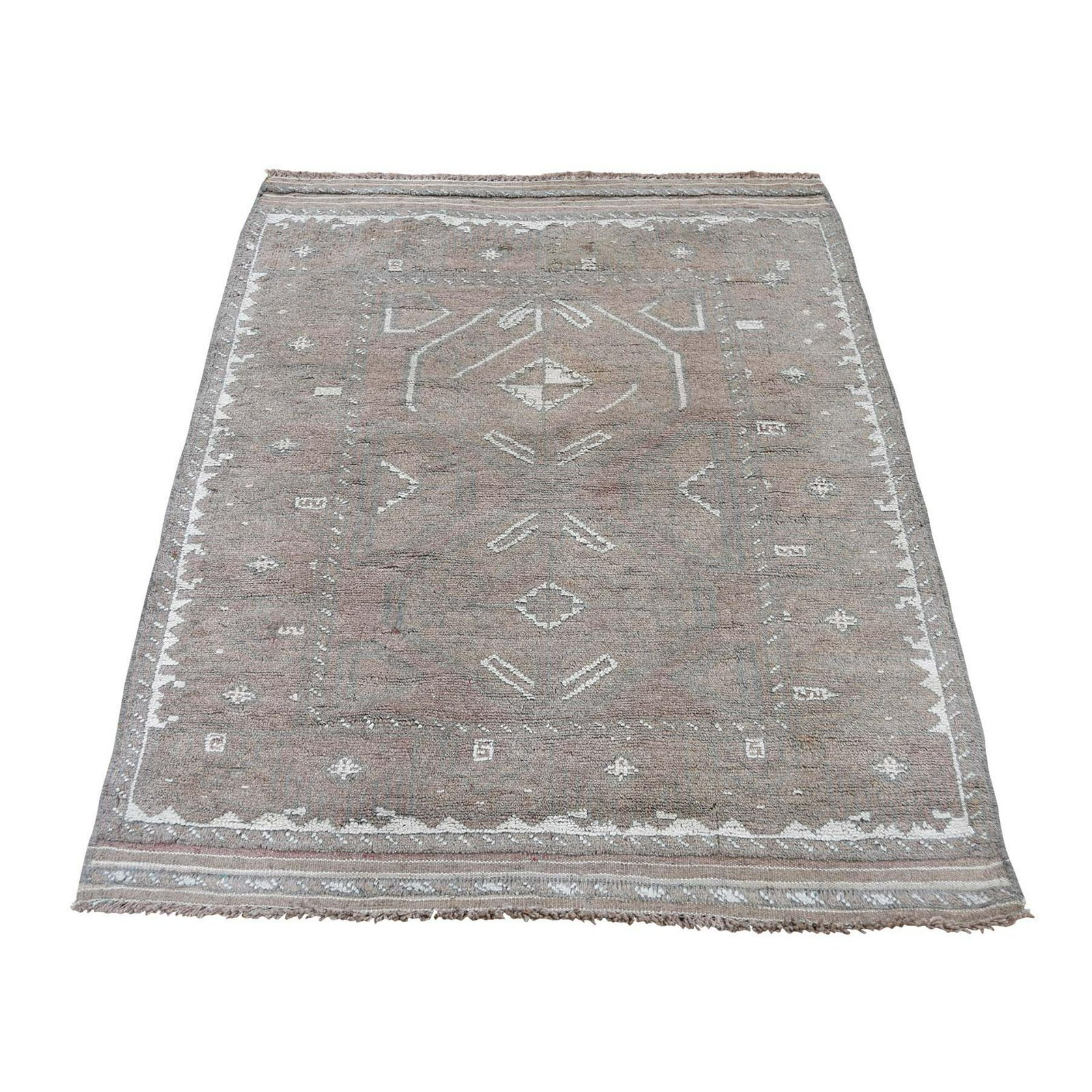 Afghan Baluch Natural Color Hand-Knotted Pure